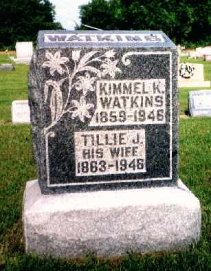 WATKINS, TILLIE J. - Fulton County, Ohio | TILLIE J. WATKINS - Ohio Gravestone Photos