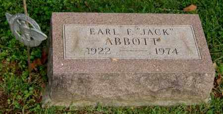 ABBOTT, EARL F - Gallia County, Ohio | EARL F ABBOTT - Ohio Gravestone Photos