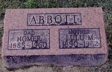 ABBOTT, LULU M - Gallia County, Ohio | LULU M ABBOTT - Ohio Gravestone Photos