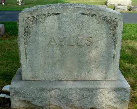ABLES, FAMILY MONUMENT - Gallia County, Ohio | FAMILY MONUMENT ABLES - Ohio Gravestone Photos