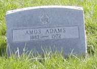 ADAMS, AMOS - Gallia County, Ohio | AMOS ADAMS - Ohio Gravestone Photos