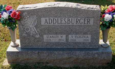 ADDLESBURGER, VIRGINIA - Gallia County, Ohio | VIRGINIA ADDLESBURGER - Ohio Gravestone Photos