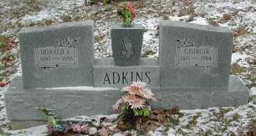 ADKINS, GEORGIA - Gallia County, Ohio | GEORGIA ADKINS - Ohio Gravestone Photos