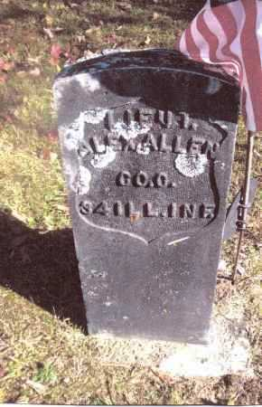 ALLEN, ALEX - Gallia County, Ohio | ALEX ALLEN - Ohio Gravestone Photos