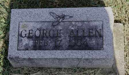 ALLEN, GEORGE - Gallia County, Ohio | GEORGE ALLEN - Ohio Gravestone Photos