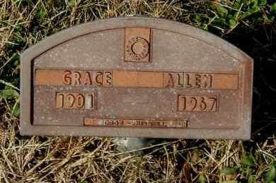 ALLEN, GRACE - Gallia County, Ohio | GRACE ALLEN - Ohio Gravestone Photos