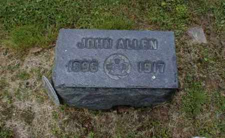 ALLEN, JOHN - Gallia County, Ohio | JOHN ALLEN - Ohio Gravestone Photos