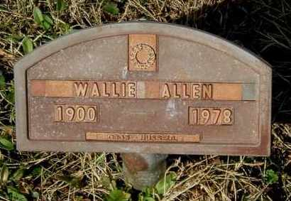 ALLEN, WALLIE - Gallia County, Ohio | WALLIE ALLEN - Ohio Gravestone Photos