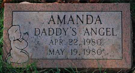 AMANDA, BABY - Gallia County, Ohio | BABY AMANDA - Ohio Gravestone Photos