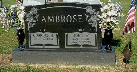AMBROSE, CORRINE M - Gallia County, Ohio | CORRINE M AMBROSE - Ohio Gravestone Photos
