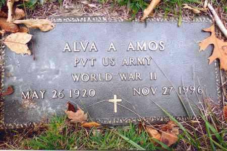 AMOS, ALVA A. - Gallia County, Ohio | ALVA A. AMOS - Ohio Gravestone Photos