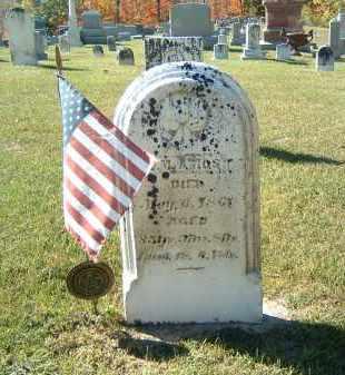 AMOS, J. M. - Gallia County, Ohio | J. M. AMOS - Ohio Gravestone Photos