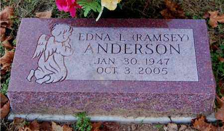 RAMSEY ANDERSON, EDNA L - Gallia County, Ohio | EDNA L RAMSEY ANDERSON - Ohio Gravestone Photos