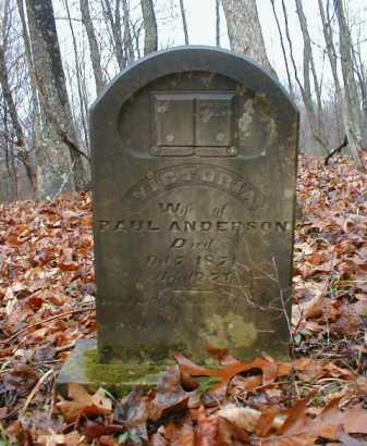 ANDERSON, VICTORIA - Gallia County, Ohio | VICTORIA ANDERSON - Ohio Gravestone Photos