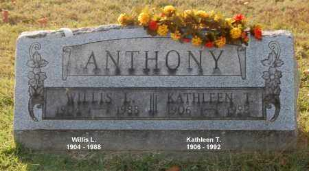 ANTHONY, KATHLEEN T - Gallia County, Ohio | KATHLEEN T ANTHONY - Ohio Gravestone Photos