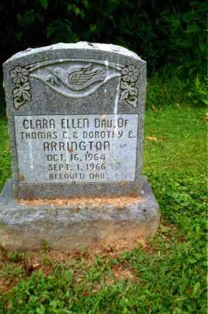 ARRINGTON, CLARA ELLEN - Gallia County, Ohio | CLARA ELLEN ARRINGTON - Ohio Gravestone Photos