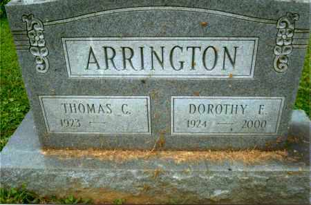 ARRINGTON, DOROTHY E. - Gallia County, Ohio | DOROTHY E. ARRINGTON - Ohio Gravestone Photos