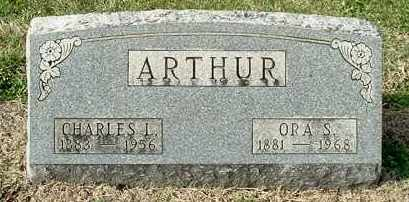 ARTHUR, ORA S - Gallia County, Ohio | ORA S ARTHUR - Ohio Gravestone Photos