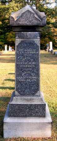 ASHWORTH, ISAAC D - Gallia County, Ohio | ISAAC D ASHWORTH - Ohio Gravestone Photos