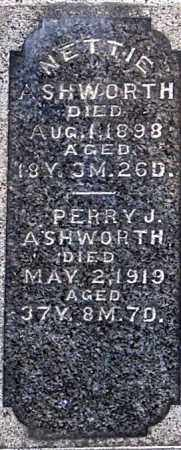 ASHWORTH, PERRY J (CLOSEUP) - Gallia County, Ohio | PERRY J (CLOSEUP) ASHWORTH - Ohio Gravestone Photos