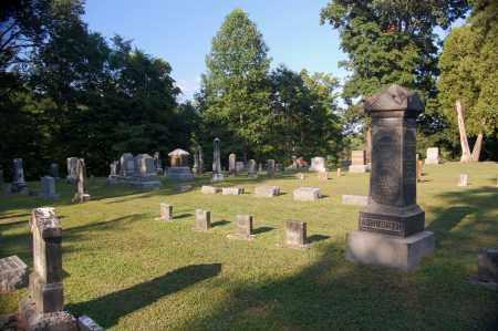 ASHWORTH PLOT, OVERVIEW - Gallia County, Ohio | OVERVIEW ASHWORTH PLOT - Ohio Gravestone Photos