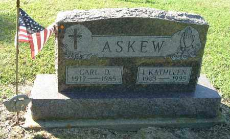 ASKEW, CARL D - Gallia County, Ohio | CARL D ASKEW - Ohio Gravestone Photos