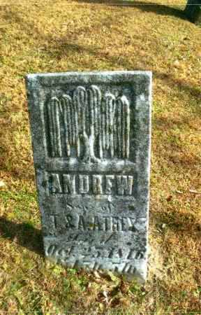 ATHEY, ANDREW - Gallia County, Ohio | ANDREW ATHEY - Ohio Gravestone Photos