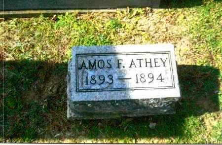 ATHEY, AMOS F. - Gallia County, Ohio | AMOS F. ATHEY - Ohio Gravestone Photos