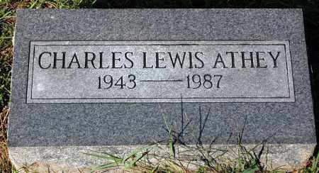 ATHEY, CHARLES LEWIS - Gallia County, Ohio | CHARLES LEWIS ATHEY - Ohio Gravestone Photos