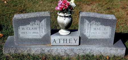 ATHEY, MAE E - Gallia County, Ohio | MAE E ATHEY - Ohio Gravestone Photos
