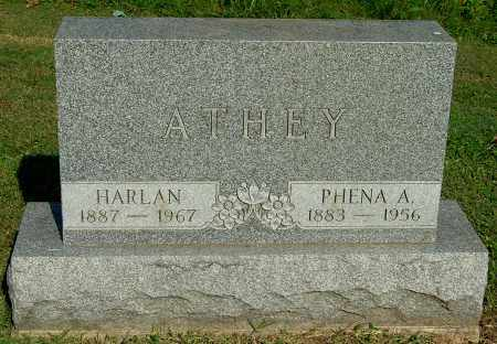 ATHEY, HARLAN - Gallia County, Ohio | HARLAN ATHEY - Ohio Gravestone Photos