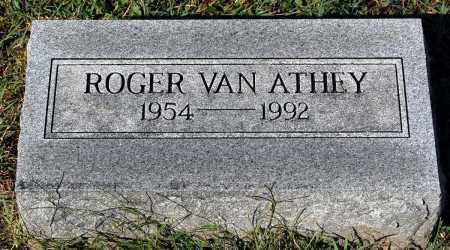 ATHEY, ROGER VAN - Gallia County, Ohio | ROGER VAN ATHEY - Ohio Gravestone Photos