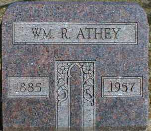 ATHEY, WILLIAM - Gallia County, Ohio | WILLIAM ATHEY - Ohio Gravestone Photos