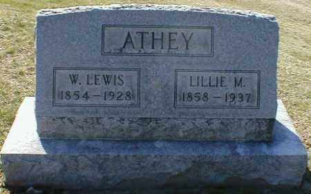 ATHEY, LILLIE - Gallia County, Ohio | LILLIE ATHEY - Ohio Gravestone Photos