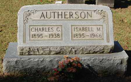 AUTHERSON, CHARLES G - Gallia County, Ohio | CHARLES G AUTHERSON - Ohio Gravestone Photos