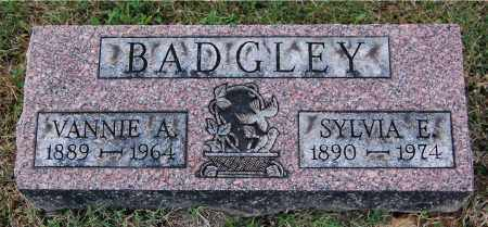 BADGLEY, VANNIE A - Gallia County, Ohio | VANNIE A BADGLEY - Ohio Gravestone Photos