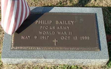 BAILEY, PHILIP - Gallia County, Ohio | PHILIP BAILEY - Ohio Gravestone Photos