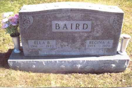BAIRD, ELLA B. - Gallia County, Ohio | ELLA B. BAIRD - Ohio Gravestone Photos