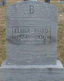 BAIRD, ELMER - Gallia County, Ohio | ELMER BAIRD - Ohio Gravestone Photos