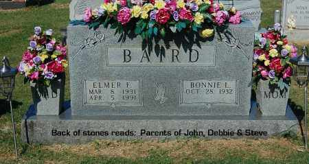 BAIRD, ELMER F - Gallia County, Ohio | ELMER F BAIRD - Ohio Gravestone Photos