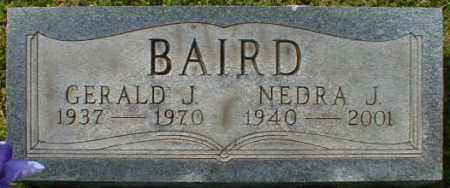 BAIRD, NEDRA - Gallia County, Ohio | NEDRA BAIRD - Ohio Gravestone Photos