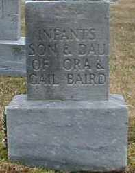 BAIRD, INFANT DAUGHTER - Gallia County, Ohio | INFANT DAUGHTER BAIRD - Ohio Gravestone Photos