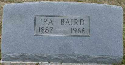 BAIRD, IRA - Gallia County, Ohio | IRA BAIRD - Ohio Gravestone Photos