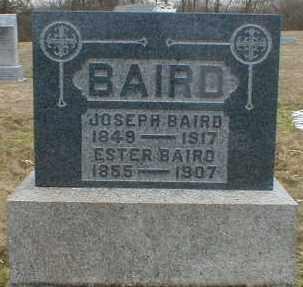 HALFHILL BAIRD, ESTER - Gallia County, Ohio | ESTER HALFHILL BAIRD - Ohio Gravestone Photos