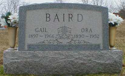 BAIRD, ORA - Gallia County, Ohio | ORA BAIRD - Ohio Gravestone Photos