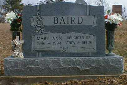 BAIRD, MARY - Gallia County, Ohio | MARY BAIRD - Ohio Gravestone Photos