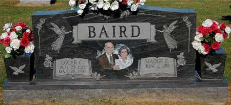 BAIRD, OSCAR C - Gallia County, Ohio | OSCAR C BAIRD - Ohio Gravestone Photos