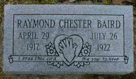 BAIRD, RAYMOND - Gallia County, Ohio | RAYMOND BAIRD - Ohio Gravestone Photos