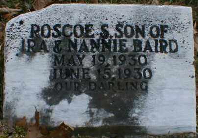 BAIRD, ROSCOE - Gallia County, Ohio | ROSCOE BAIRD - Ohio Gravestone Photos