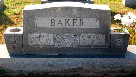 BAKER, CLERO M. - Gallia County, Ohio | CLERO M. BAKER - Ohio Gravestone Photos